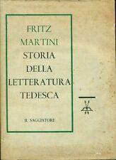 MARTINI Fritz, Storia della letteratura tedesca