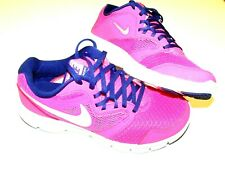 Kids Girls Nike Flex Experience 3 (GS) Pink Blue shoes 14167