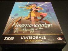 """COFFRET 3 DVD NEUF """"NISEMONOGATARI - INTEGRALE - EDITION GOLD"""" manga"""