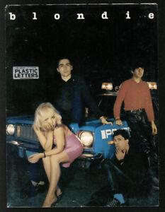 BLONDIE Plastic Letters oRiGiNaL Chrysalis press kit (1977) Debbie Harry PUNK