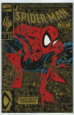 Spider-man #1 Gold variant NM [Marvel 1990] McFarlane 2nd print