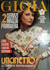 GIOIA N°12 /20/MAR/1974* Settim.le di Politica, Attualità e Cultura per la donna