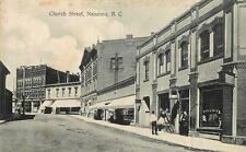 Photo. ca 1909. Nanaimo, BC Canada. Church St