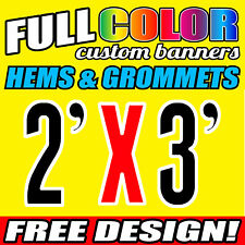 PVC Banners 610 x 914 MM Outdoor Vinyl Printing Heavy Duty Advertising Sign