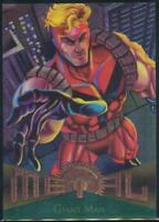 1995 Marvel Metal Trading Card #12 Giant Man