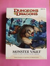 DUNGEONS & DRAGONS ESSENTIALS MONSTER VAULT RPG ROLEPLAYING DND D&D ROLEPLAY 4th