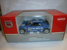 1:18 KYOSHO Nissan Skyline GT-R R32 1990 Calsonic #12, 10e Anniversaire