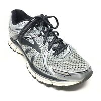Men's Brooks Adrenaline GTS 17 Running Shoes Sneakers Size 9 Gray Black X2