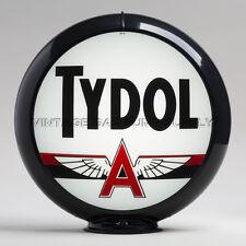 """Tydol 13.5"""" Gas Pump Globe w/ Black Plastic Body (G230)"""
