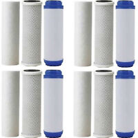 SEDIMENT/FLUORIDE/ ARSENIC FILTER/CARBON BLOCK FILTERS 4 SETS 3 YEAR SUPPLY