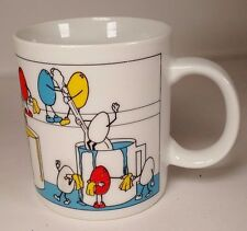 Easter Egg Dye Party 1987 Houston Foods Mug Silly Paint Cartoon Funny Gag Gift