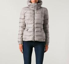 Moncler Sanglier Coat Down Jacket Women's Size 1(S) Authentic Fur Puffer Rare