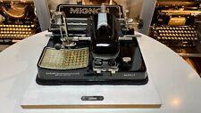 MIGNON Modell 4 - 1930 - portable typewriter Schreibmaschine vintage antik