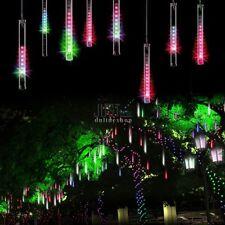 50cm 240LED Meteorschauer Regen Lichter Wasserdicht 8Tubes String für Weihnachte