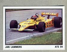 F1 GRAND PRIX - Panini 1980 - Figurina-Sticker n. 68 - J.LAMMERS ATS -New