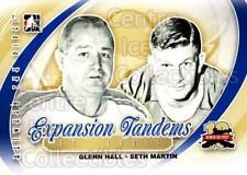 2011-12 Between The Pipes #195 Glenn Hall, Seth Martin
