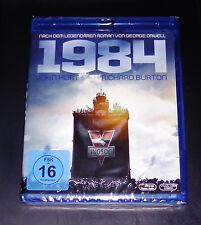 1984 con John Hurt / RICHARD BURTON BLU-RAY Más Rápido Envío NUEVO Y EMB. orig.