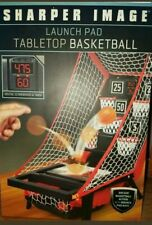 BASKETBALL GAME Sharper Image Arcade Tabletop 15 inch Launch Pad