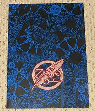 Original 1995 Jimmy Page Robert Plant concert program tour book Led Zeppelin