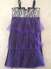 girls FLAPPER DRESS 1920'S halloween costume DRESS-UP dance ZEBRA size 3/4/5/6