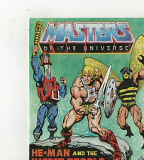 1983 Mattel Masters Of the Univers Little Comic book, He-Man& The Insect People