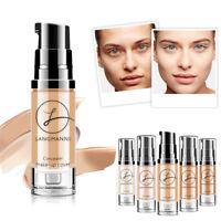 Full Cover Face Concealer Cream Pro Contour Makeup Foundation Liquid Cosmetics