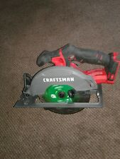 CRAFTSMAN V20 20V 6-1/2-in Cordless Circular Saw CMCS500 (Tool Only)