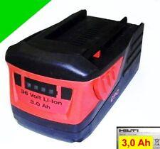 Original Hilti Akku  B 36 / 3.0  Li 36 V Li-Ion mit 3.0 Ah. 3000 mAh