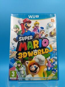 jeu video nintendo WII U PAL EUR TBE super mario 3D world
