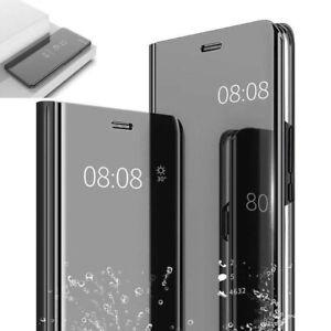 Etui Housse portefeuille Huawei Mate 20 Lite Miroir Transparent Coque neuf