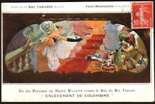 Bal Tabarin. 6 cartes postales. 1909. Willette - Montmartre - French Cancan