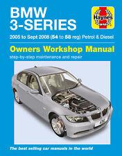 Haynes Manual - BMW 3 Series Petrol & Diesel 2005-2008 318 320 325 330 Touring