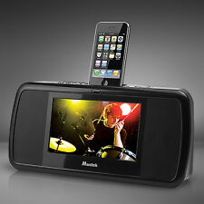 Mustek Docking Station for iPod Iphone with 7-Inch LCD Multimedia Video Sound