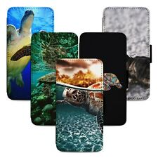 Sea Turtle Marine Flip Phone Case Cover Wallet - Fits Iphone 5 6 7 8 X 11