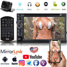 Mirror Link for GPS Car Stereo DVD CD A5 System HD Radio Player w/ Backup Camera