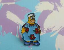 The Simpsons Pin Badge Brooch Enamel 90s Cartoon Homer Muumuu Dress Gift UK