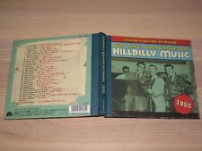 Country & Western Hit Parade 1955 CD - Hillbilly Music / Bear Family in Mint