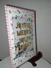 Christmas Card with envelope - New -unused wrapped P. S. Greetings sequence