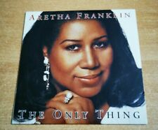 ARETHA FRANKLIN The only thing ULTRA RARE SPANISH PROMO CD SINGLE CARD SLEEVE