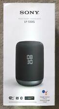 Sony LF-S50G Wireless Bluetooth Smart Speaker with Google Assistant Black - 134