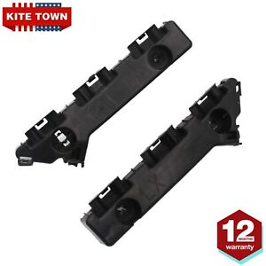 LH&RH Front Bumper Fascia Support Lower Brackets Fit for 2011-2020 Chrysler 300