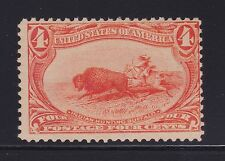 "MNH, SC# 287 Trans-Mississippi Orange 4c, ""Indian Hunting Buffalo"""