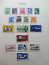 Nigeria Mnh + Mh Stamps Lot