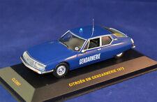 1/43 1973 CITROEN SM GENDARMERIE - IXO CLC097 - POLICE