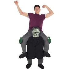 Frankenstein Piggyback Costume Adult Ride On Scary Halloween Monster Fancy Dress