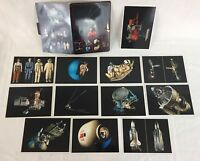 Russian CCCP Soviet Space Color 12 Post Cards in Folder Rare Vintage 1991