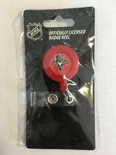 "FLORIDA PANTHERS BADGE HOLDER Amico 30"" Retractable Cord NHL DM1"