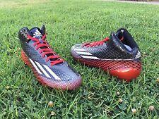 Adidas Mens Shoes Football Adizero 5-Star 3.0 Size 9 1/2 Black/Red/White G99463