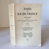 Parigi E Île-de-france Mémoires 9 Federazione Fabbrica Storici Scavi