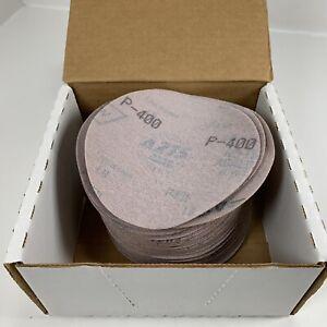 """Norton A275 5""""xNH P400 Grit Hook & Loop Paper Disc 31539 Qty 100 Disc"""